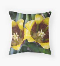 Fritillaria  Throw Pillow