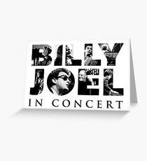 billy joel logo Greeting Card