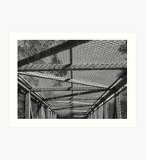 Bridge Topper Art Print