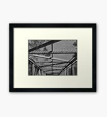 Bridge Topper Framed Print