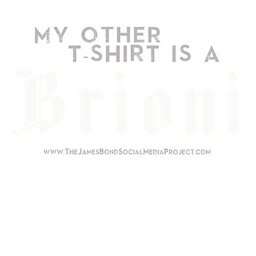 My Other Tee is a Brioni by 007hertzrumble