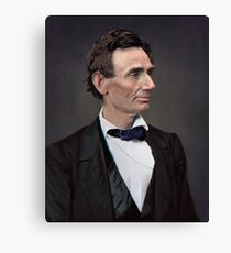 Abraham Lincoln, circa 1863 Canvas Print