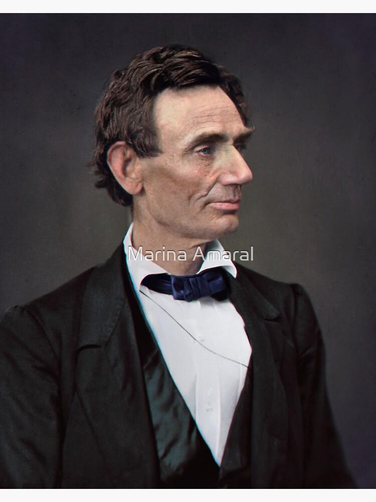 Abraham Lincoln, circa 1863 by marinamaral