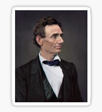 Abraham Lincoln, circa 1863 Sticker