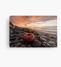 Point of view from the beach Metal Print