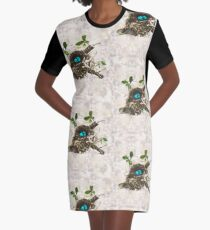 The commonplace miracle Graphic T-Shirt Dress