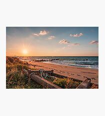 Point of view from the beach Photographic Print