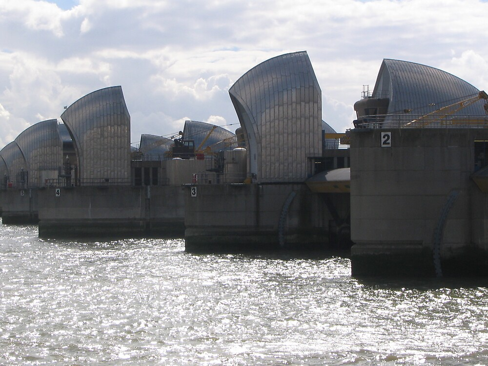 Thames Barriers by JacTaylor