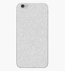 Mittlere Mädchen-Skript iPhone-Hülle & Cover