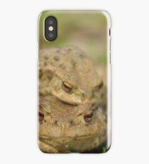 Frog invasion iPhone Case