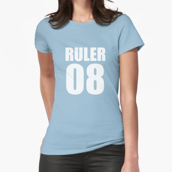 RULER 08  tee & hoodie Fitted T-Shirt