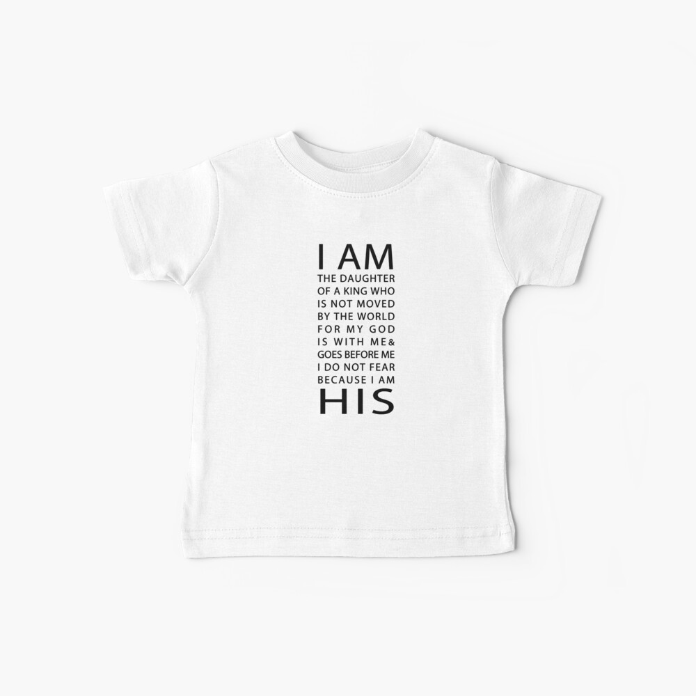 Christian Quote Baby T-Shirt