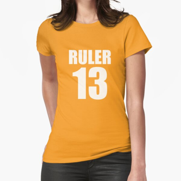 RULER 13 tee & hoodie Fitted T-Shirt
