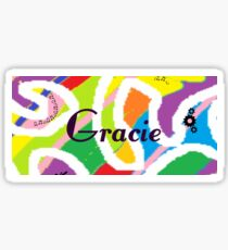 Gracie Sticker