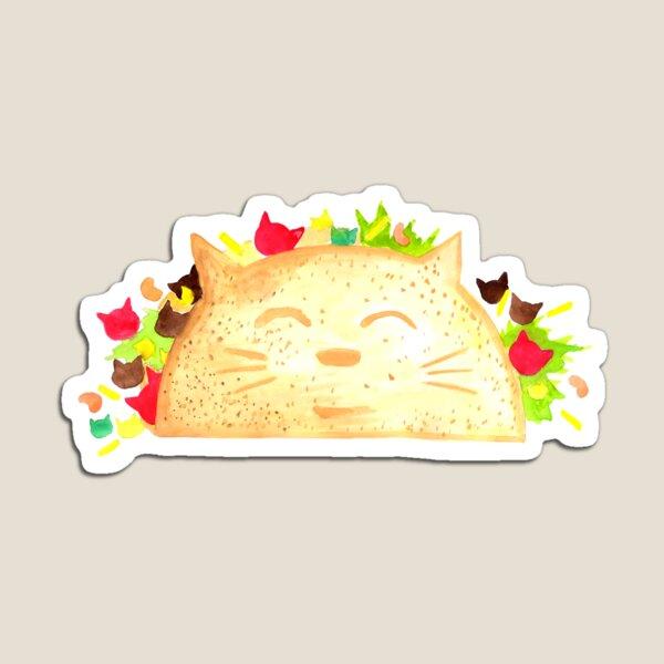 Taco Cat - By Merrin Dorothy Magnet