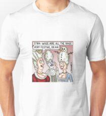 Snowman Wig T-Shirt