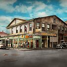 City - Victoria TX - The old Rupley Hotel 1931 by Michael Savad