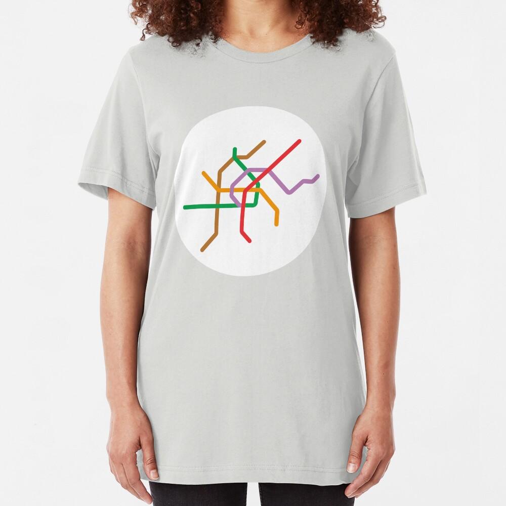 Mini Metros - Vienne, Autriche T-shirt ajusté
