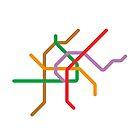 Mini Metros - Vienna, Austria by transitoriented