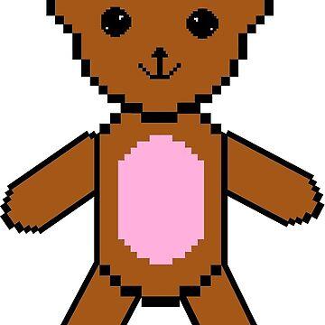 teddy eddy bear by cliffovevo