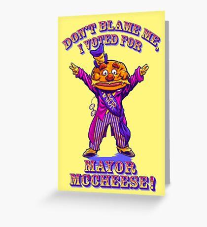 DON'T BLAME ME... Greeting Card