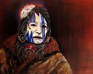 Mourning Mask #3 by Susan McKenzie Bergstrom
