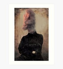 the man who knew too much Art Print