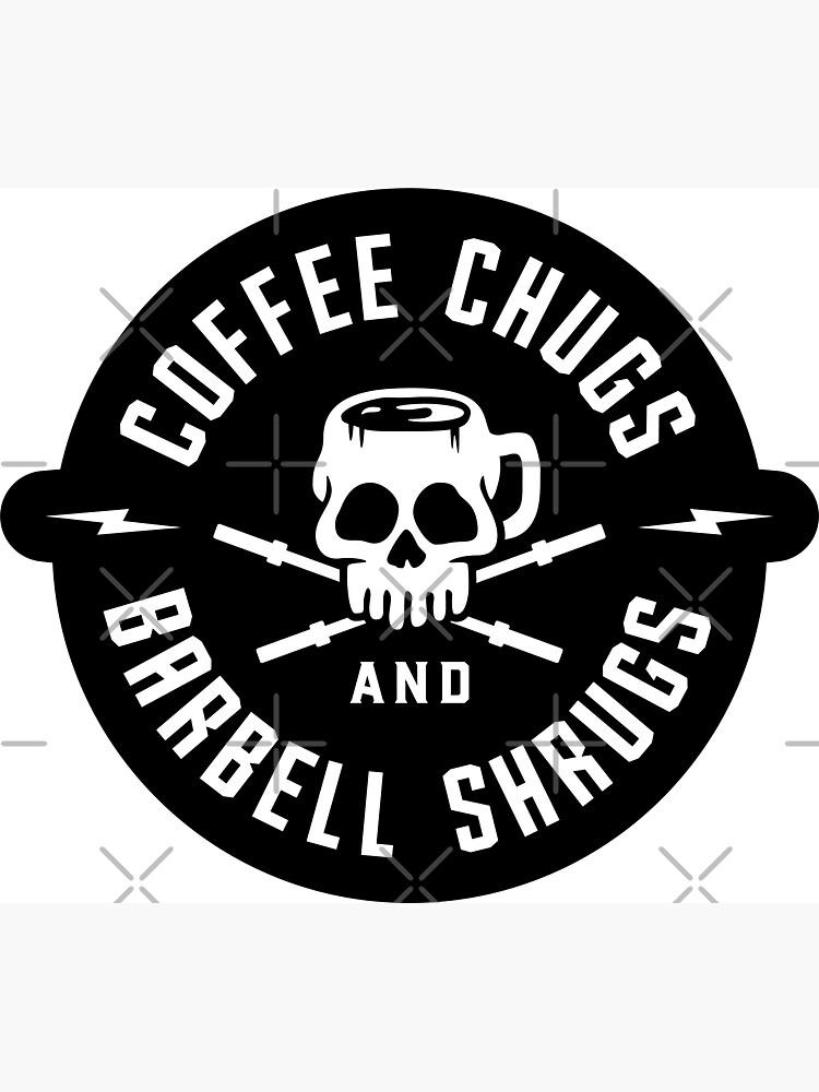 Kaffee Chugs und Barbell Shrugs von brogressproject