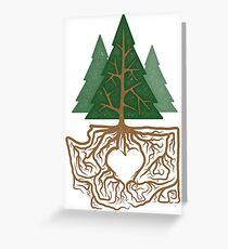 Northwest Love Greeting Card