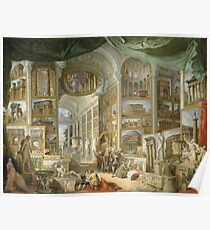 Giovanni Paolo Panini - Ancient Rome Poster