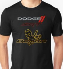 DODGE SRT DEMON LOGO Unisex T-Shirt
