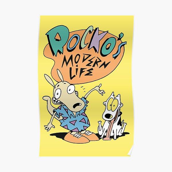 Rocko's Modern T-Shirt Poster