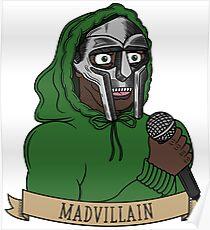 MF Doom V2 Poster