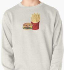 Burger and Fries - Cute Faces Pullover