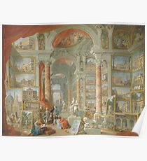 Giovanni Paolo Panini - Modern Rome Poster