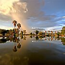 Storm Over Silverbell Lake by Marvin Collins