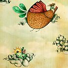 The Dream Of A Chicken by Sonja Stangl
