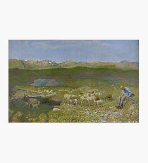 Giovanni Segantini - Alpine Pasture 1893 Photographic Print