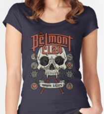 The Belmont Clan Women's Fitted Scoop T-Shirt