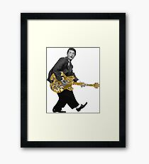 Marty Mc Fly plays Guitar | Cult Movies Framed Print