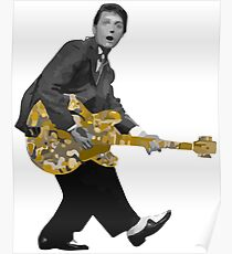 Marty Mc Fly plays Guitar | Cult Movies Poster