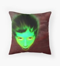 Unearthly Throw Pillow
