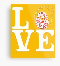 Love Easter Metal Print