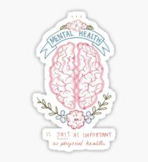 mental health Sticker
