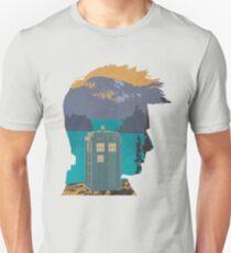 Tardis Silhouette  Unisex T-Shirt
