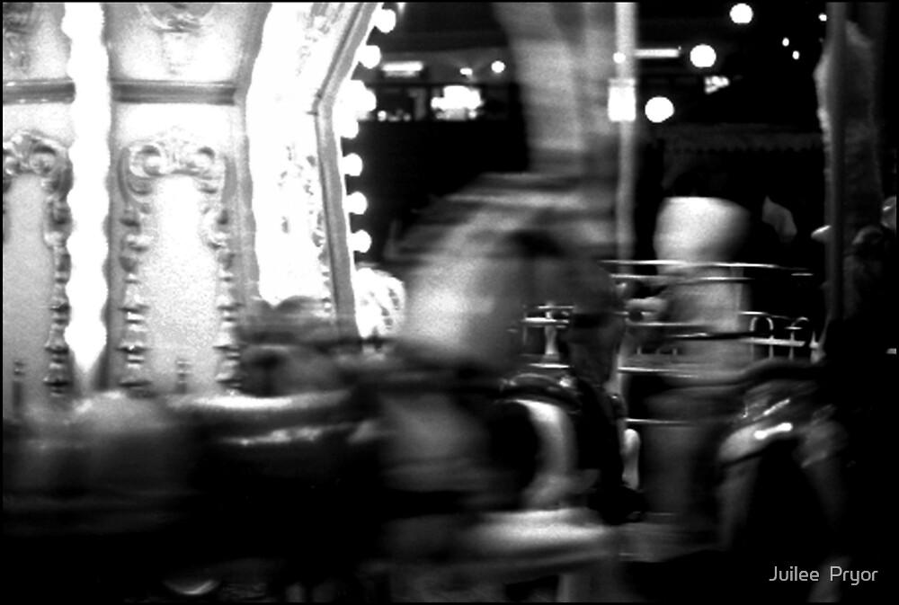 Urban Landscape # 26 Leichhardt Carousel by Juilee  Pryor