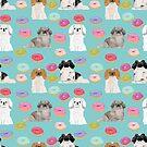 Pekingese dog breed dog pattern pet portraits donut food dog breeds pet friendly by PetFriendly by PetFriendly