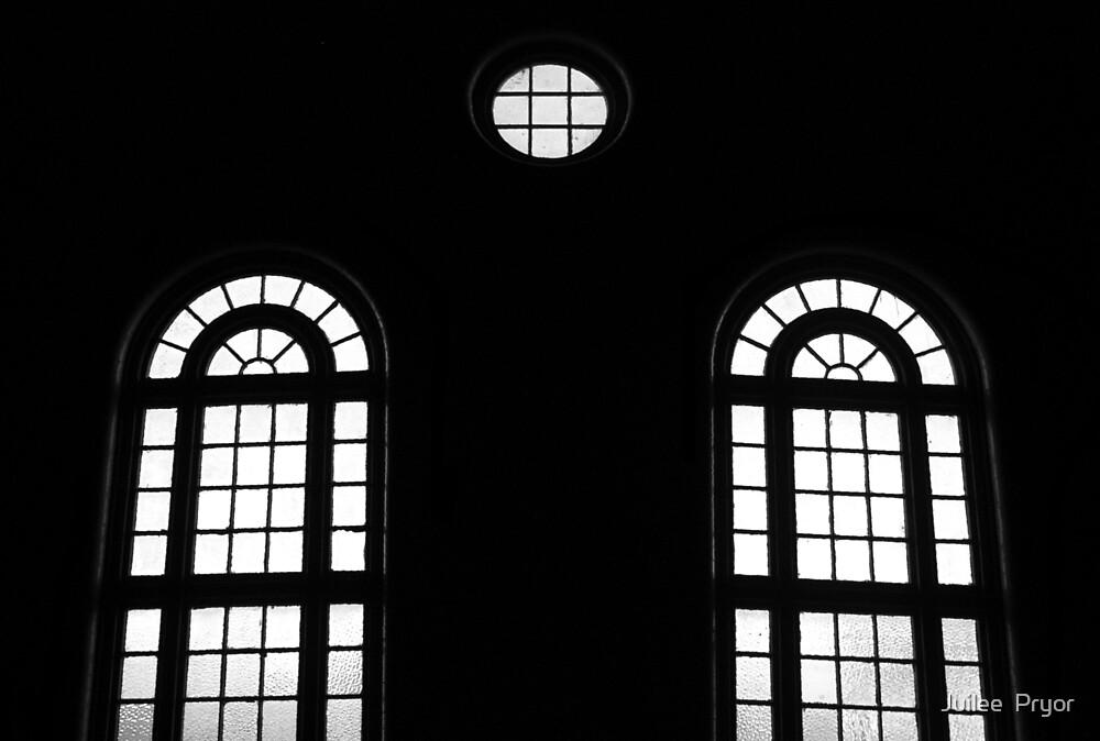 Urban Landscape # 18 Leichhardt Church Windows  by Juilee  Pryor