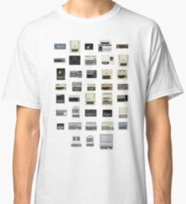 Pixel History of Home Computers Classic T-Shirt