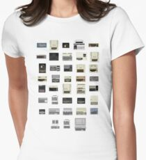 Pixel History of Home Computers T-Shirt